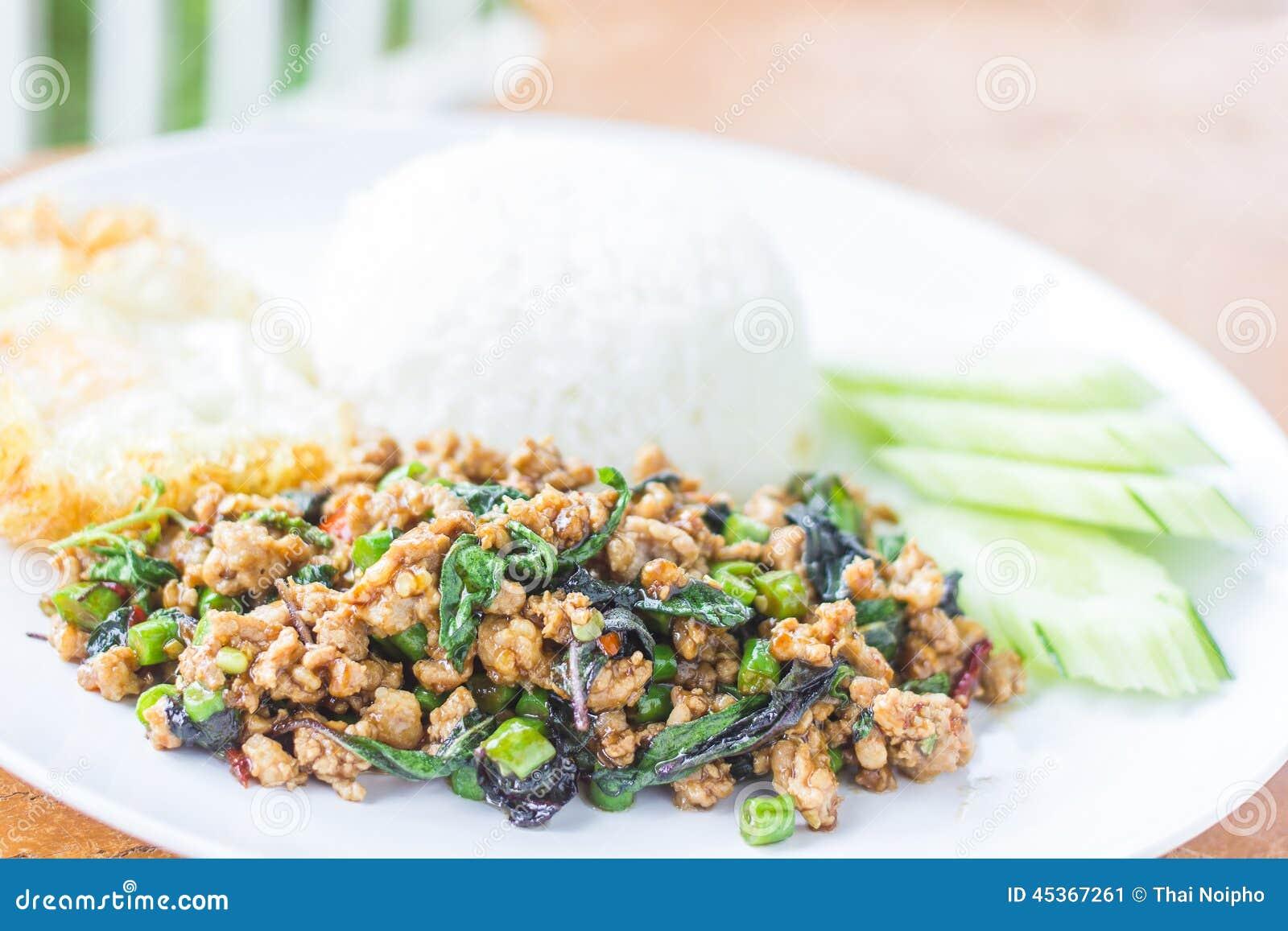 Cari de viande avec du riz, orientation sélectrice