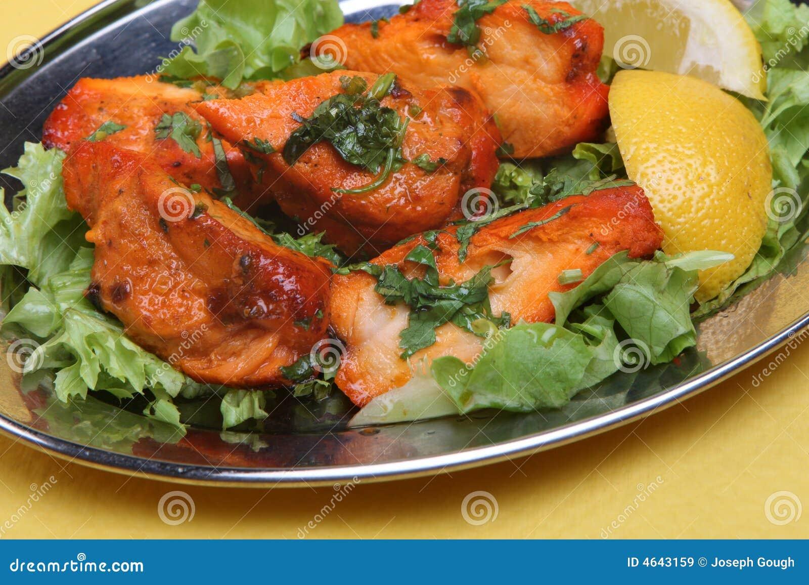 Cari indien de Tikka de poulet
