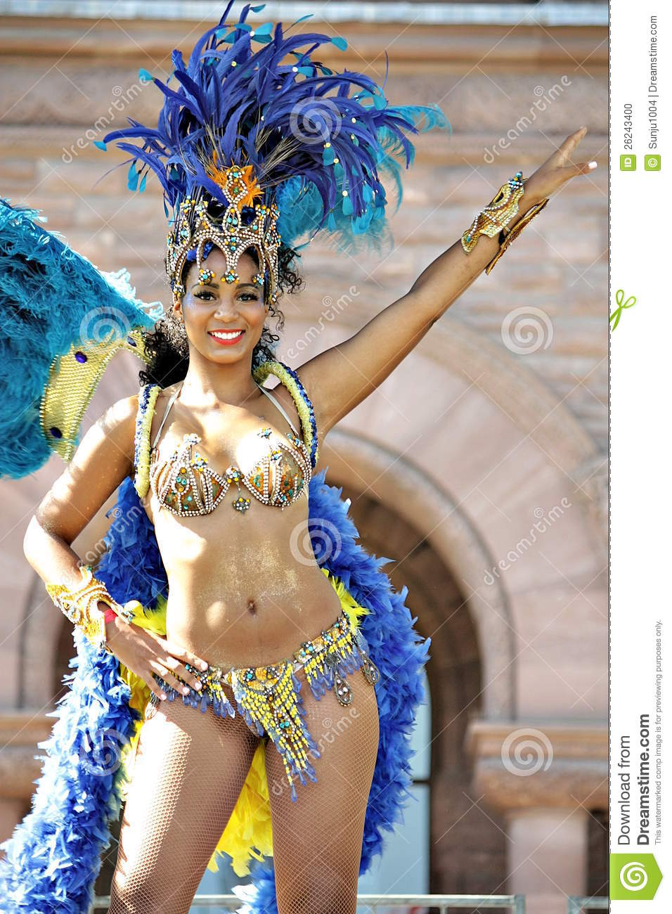 Caribana editorial image  Image of costume, excite, peacock