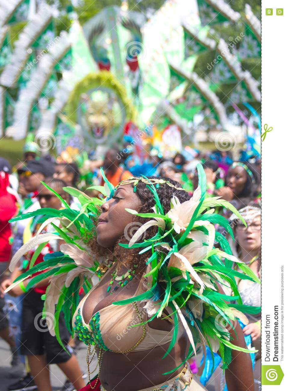 Caribana Parade editorial stock photo  Image of beautiful