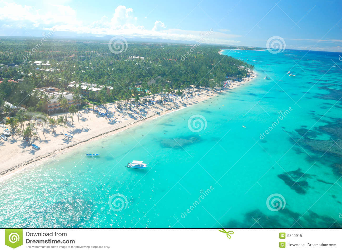 Caribbean Beach Aerial View Royalty Free Stock Photo - Image: 9890915: dreamstime.com/royalty-free-stock-photo-caribbean-beach-aerial-view...