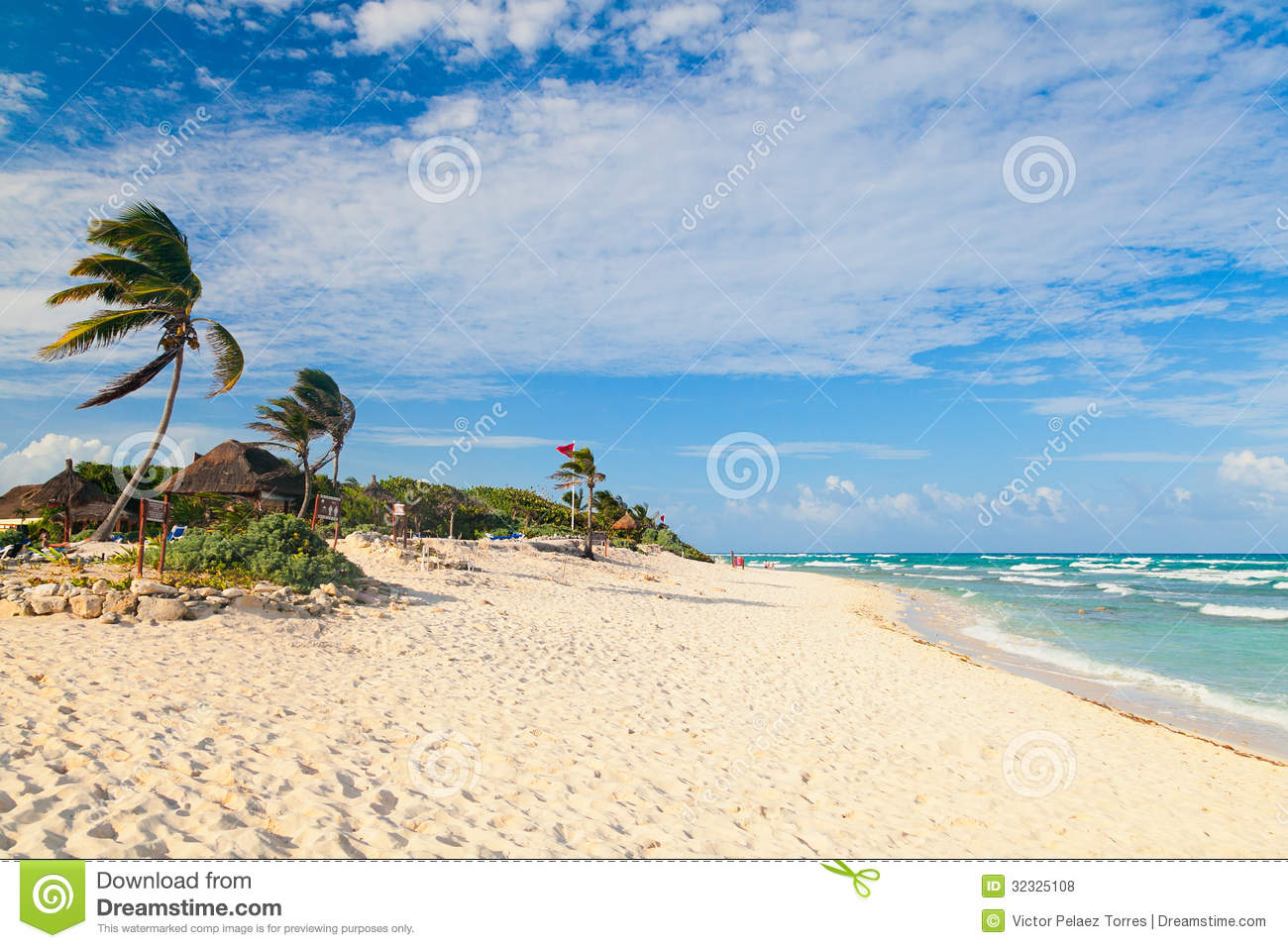 Caribbean Beach Royalty Free Stock Photos - Image: 32325108
