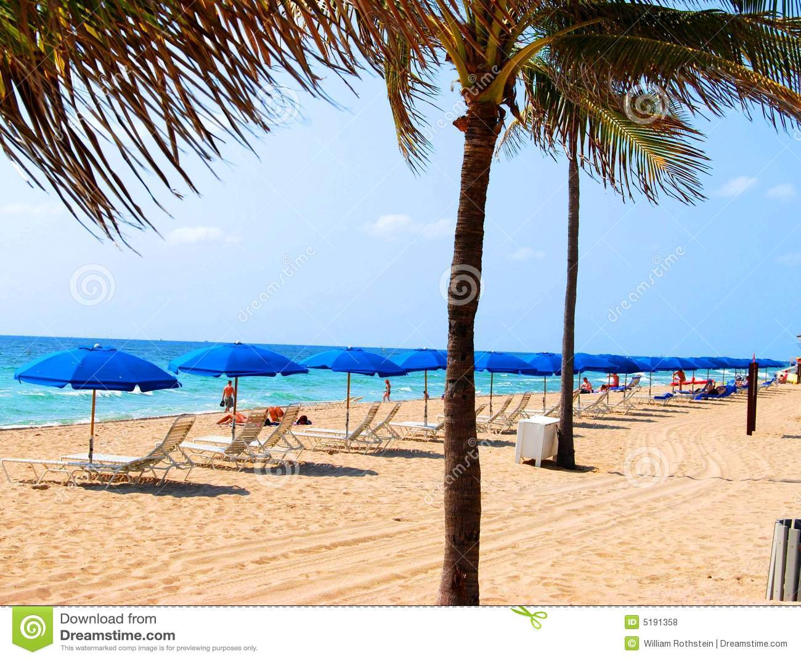 Island Beach Scenes: Caribbean Beach Scene Royalty Free Stock Photos