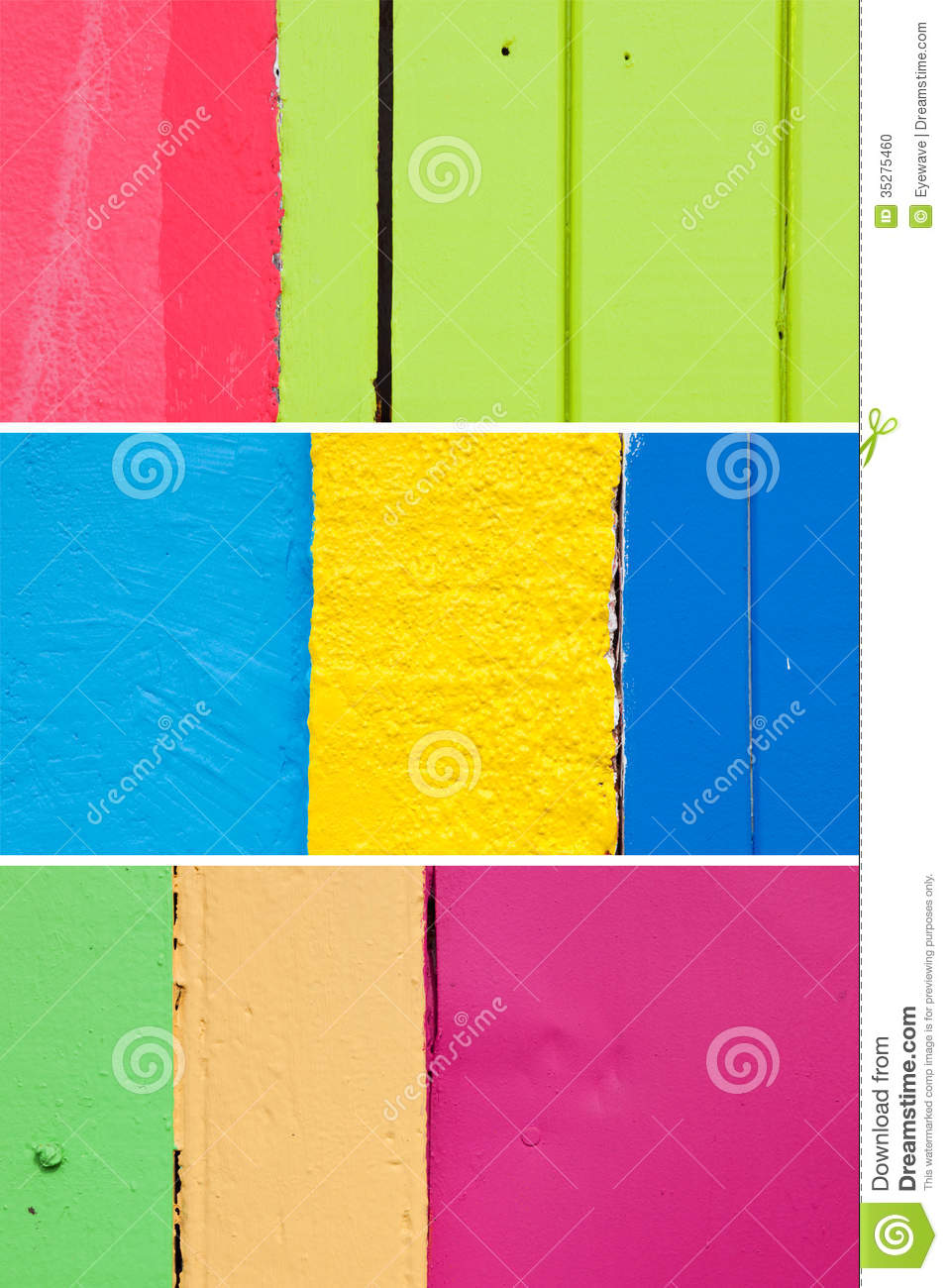 Caribbean Color Wall Backgrounds 1 Stock Photo - Image of green ...