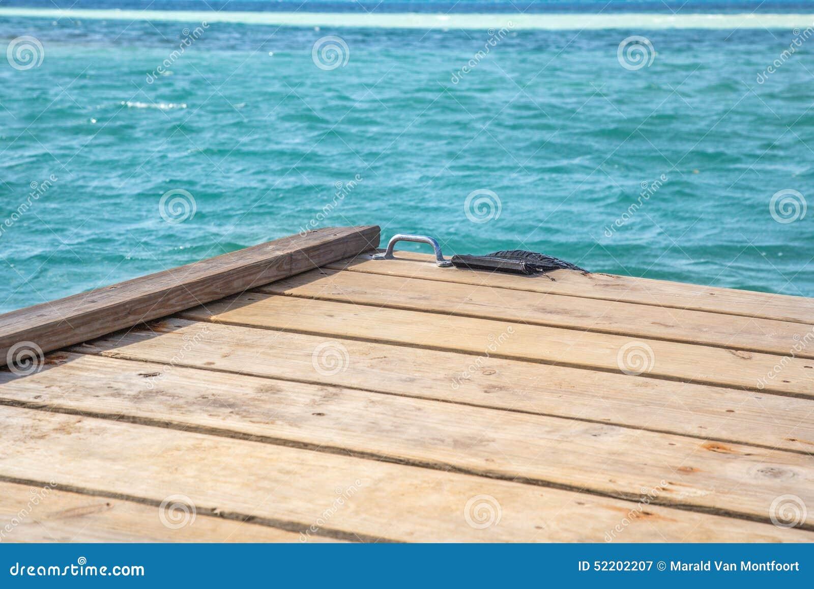Caribbean Peer Stock Photo - Image: 52202207