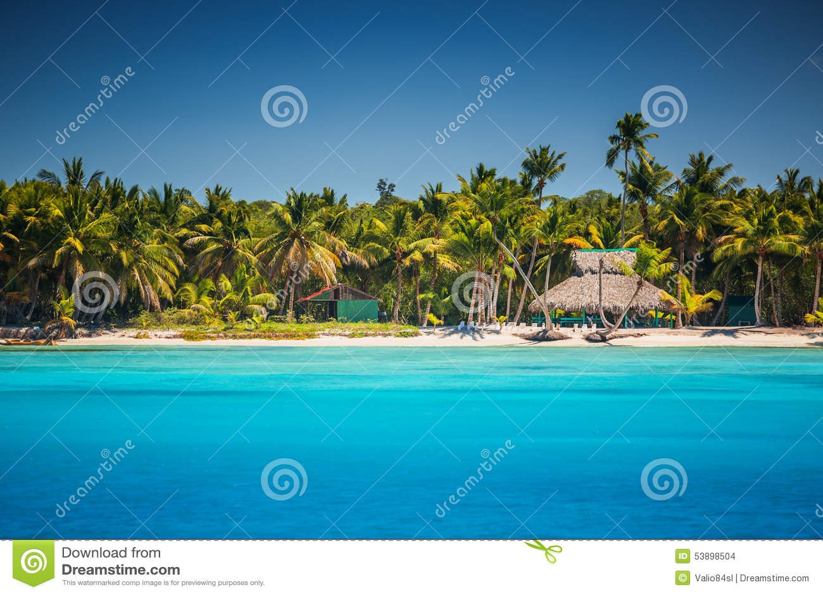 caribbean wild beach in punta cana dominican republic. Black Bedroom Furniture Sets. Home Design Ideas