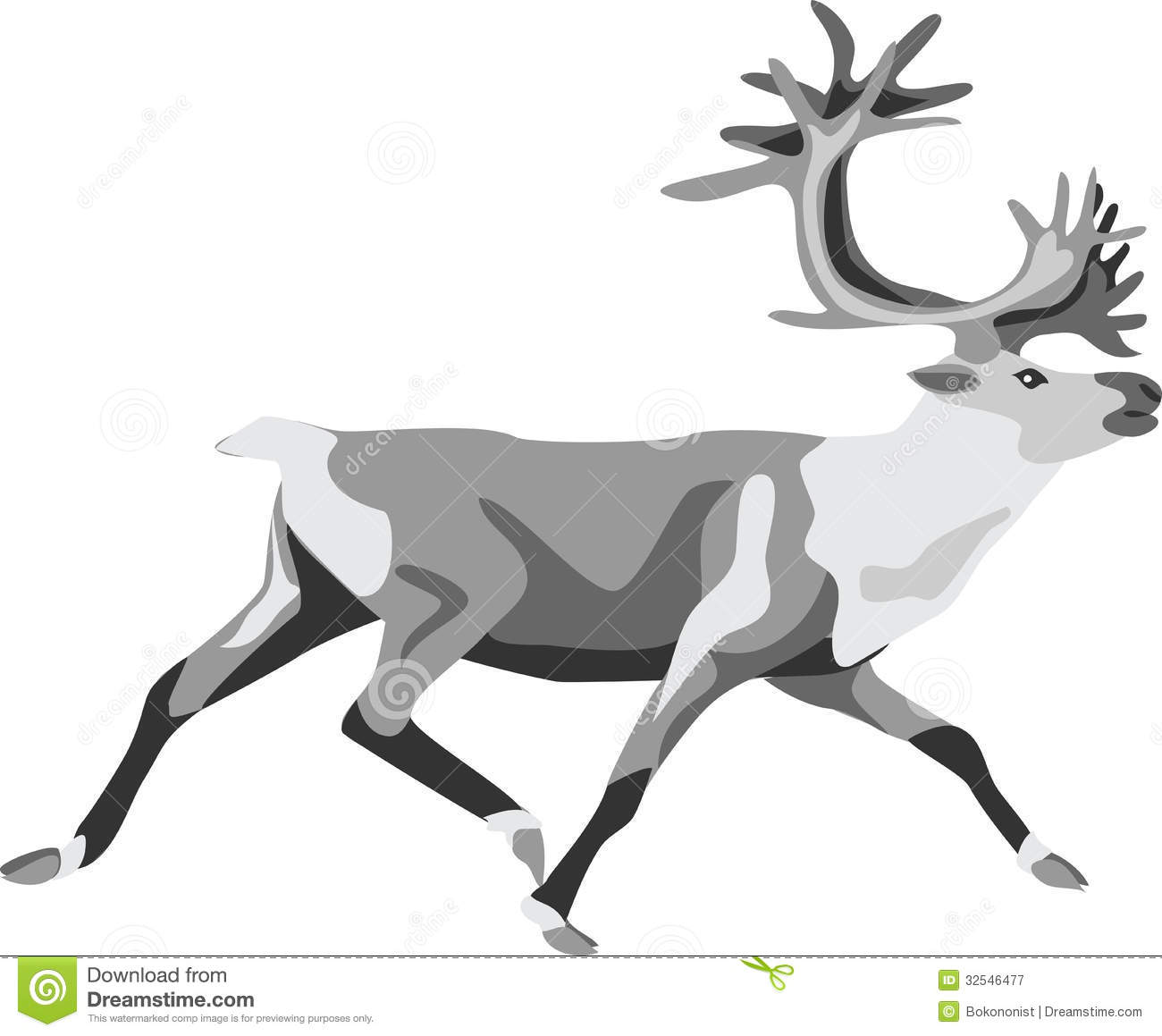 Caribou Royalty Free Stock Photography - Image: 32546477
