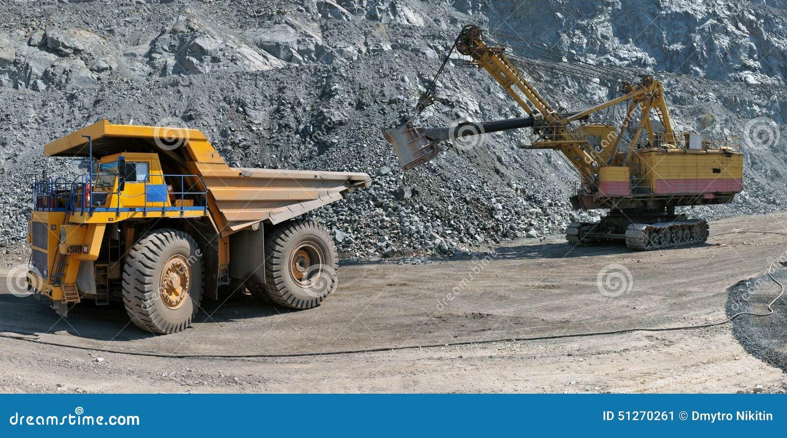 Caricamento del minerale di ferro