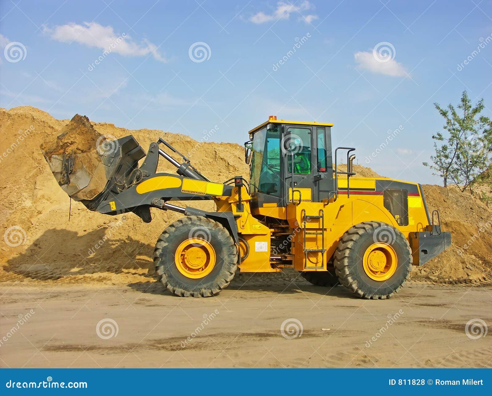 Caricatore dell escavatore a cucchiaia rovescia