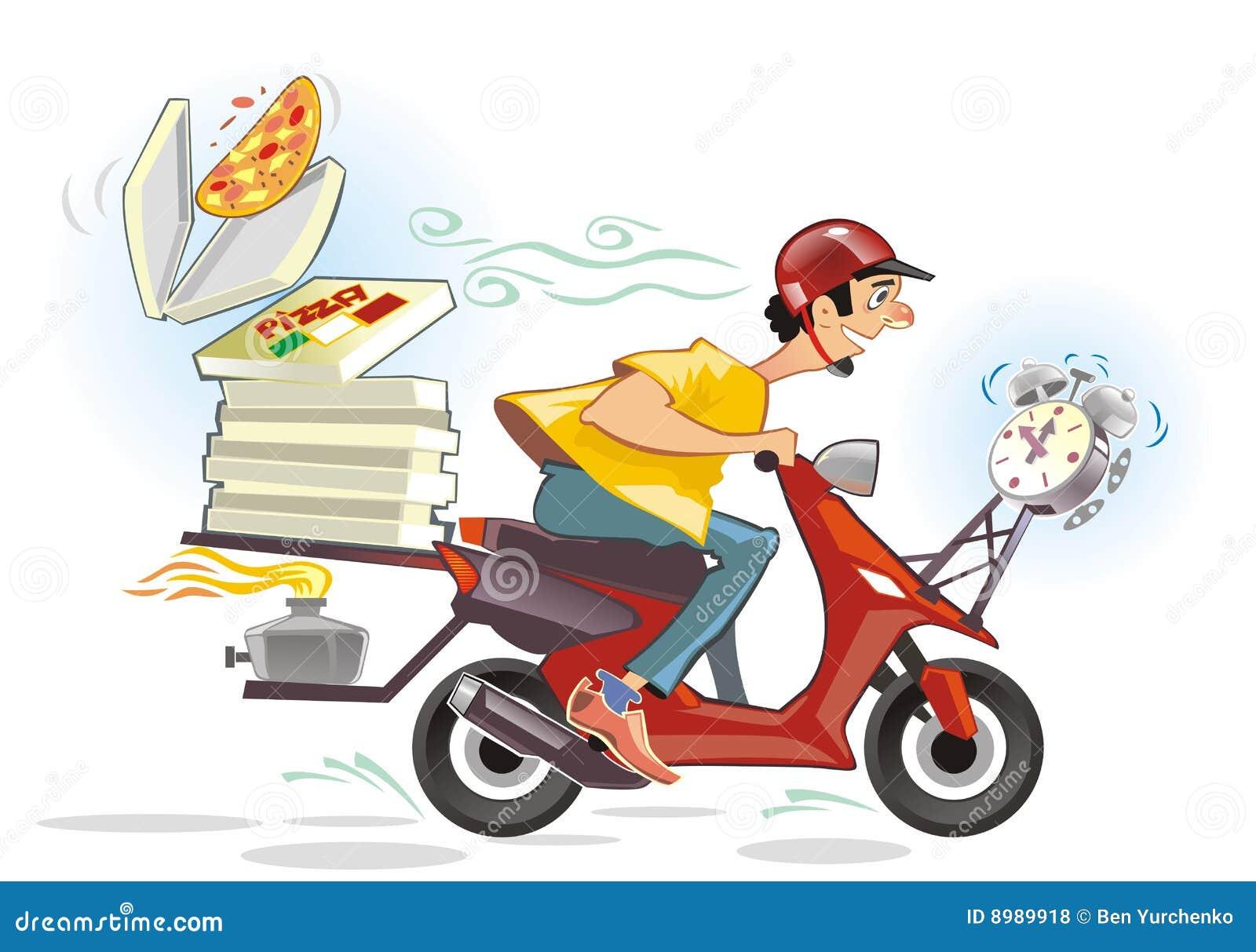 Increíble Entrega De Pizza Habilidades De Reanudar Imágenes ...