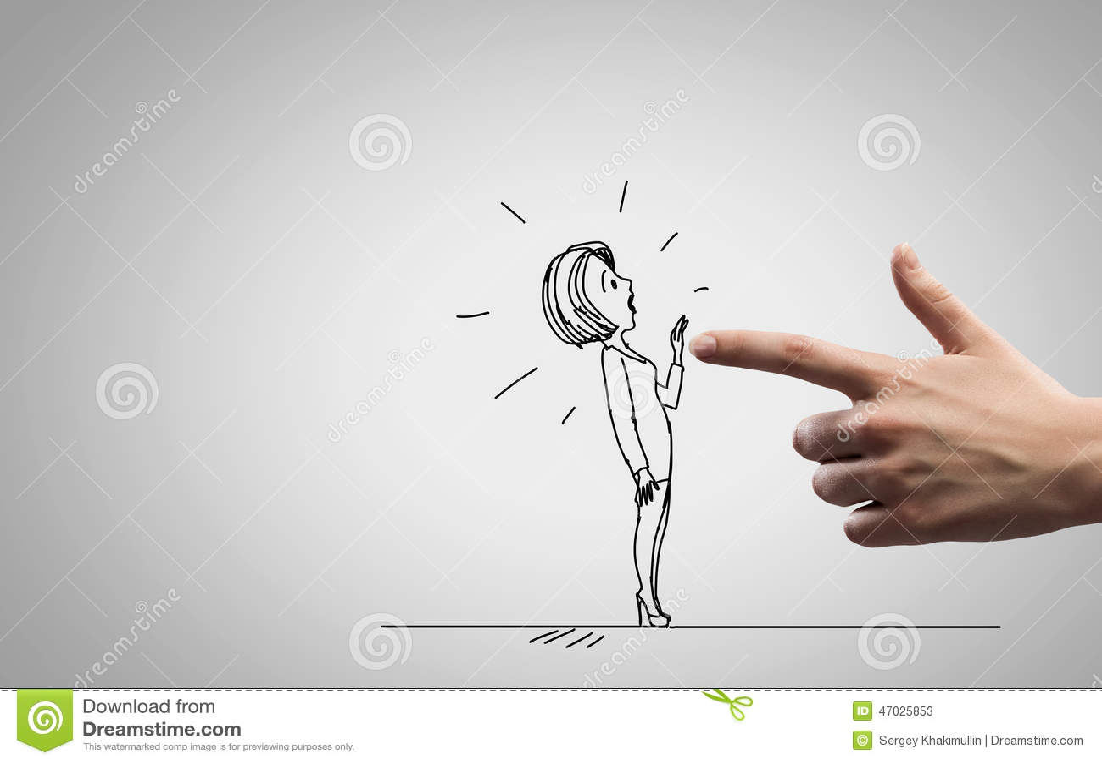 Caricature Drôle Illustration Stock - Image: 47025853