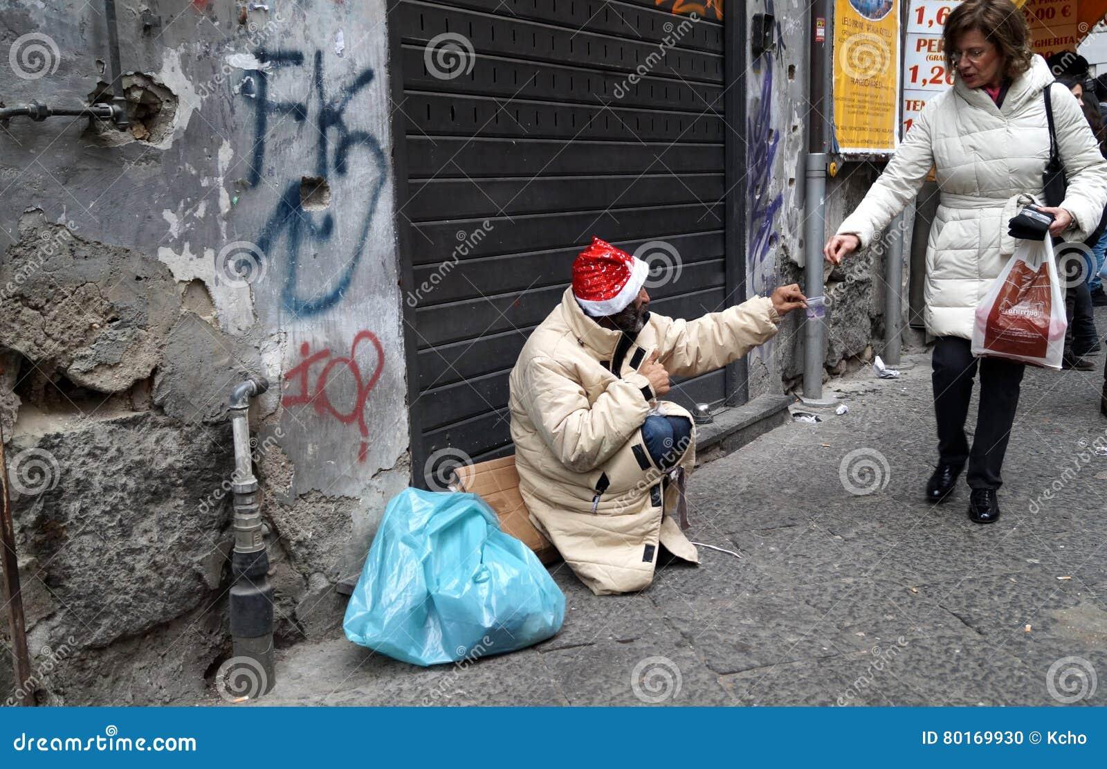 Caridad sin hogar