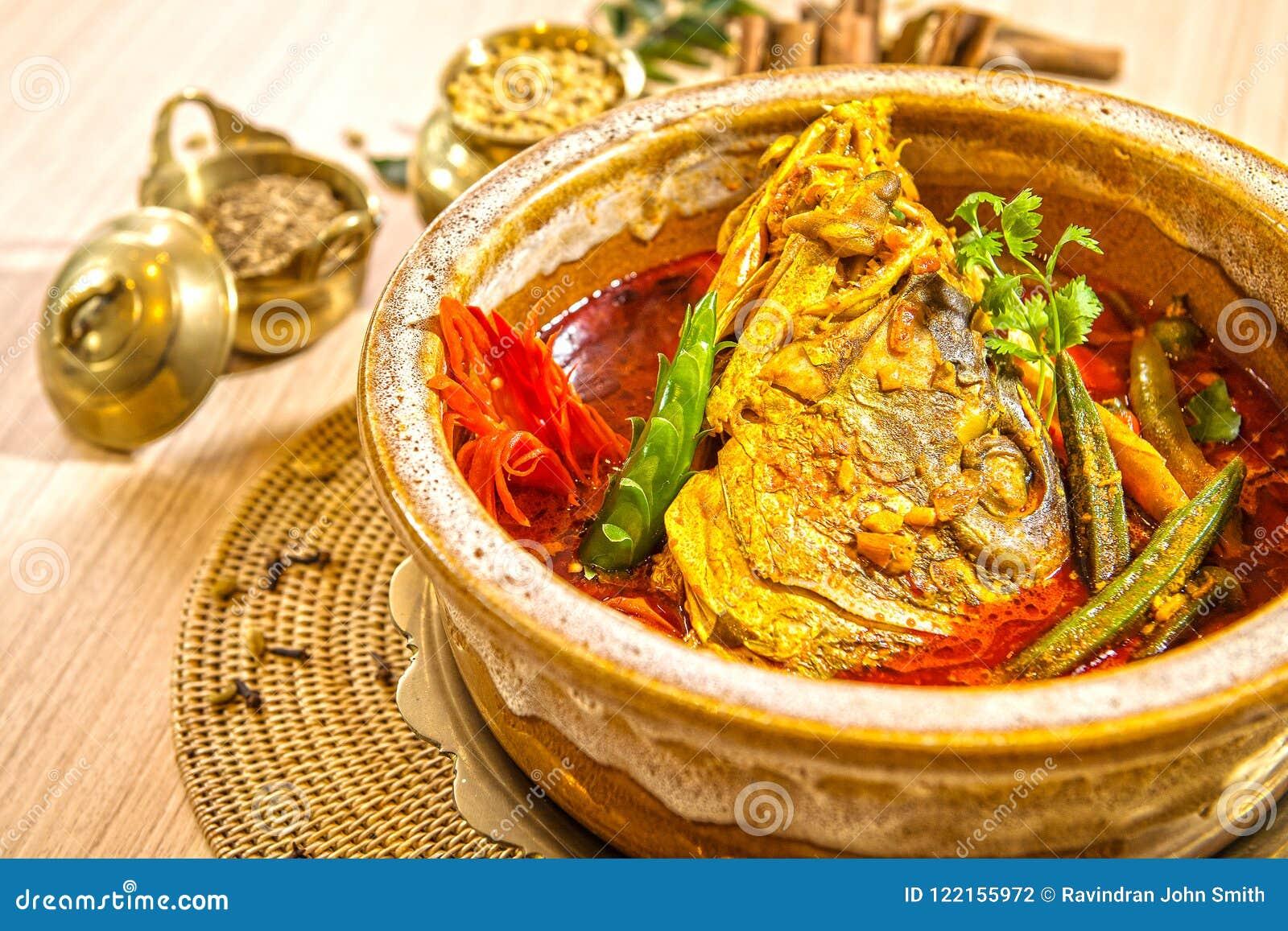 Caril principal dos peixes