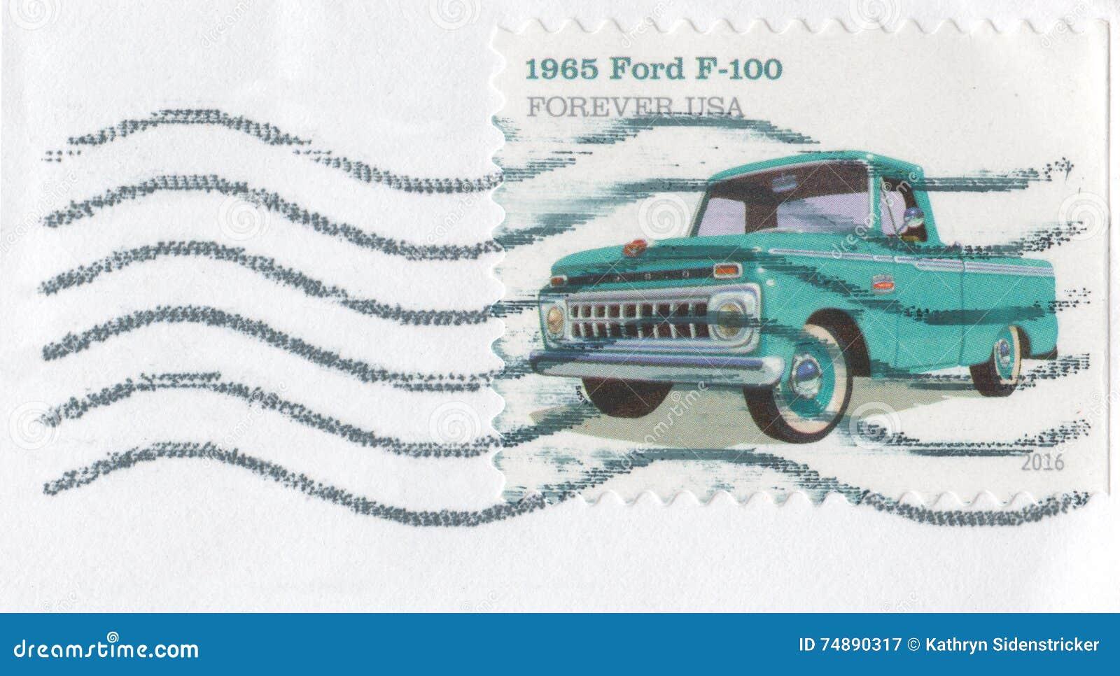 2016 carimbe para sempre Ford Pickup 1965