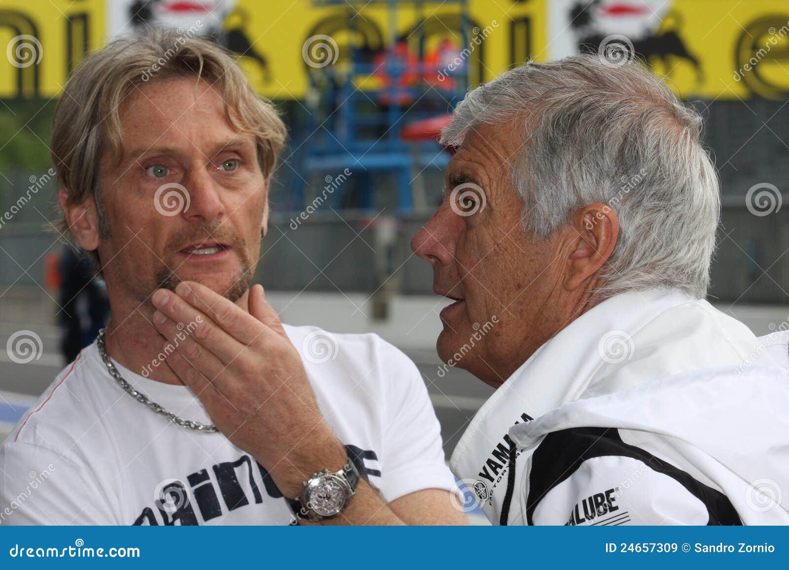 Carl Fogarty e Giacomo Agostini