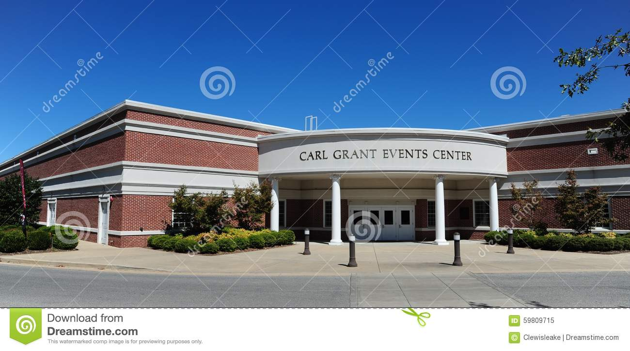 Carl Grant Events Center at Union University in Jackson, Tennessee.