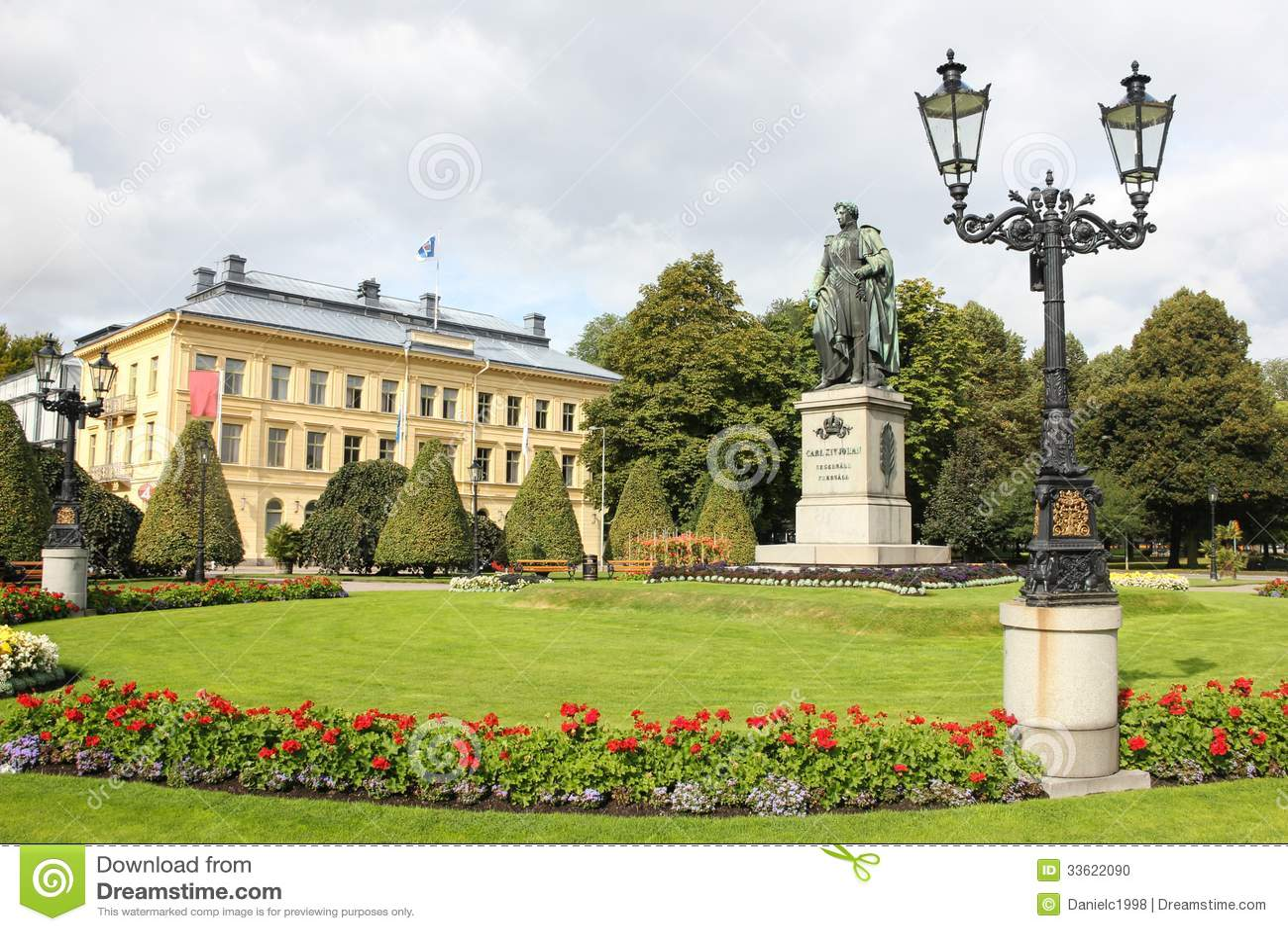 Carl Johans-Park. Norrkoping. Schweden