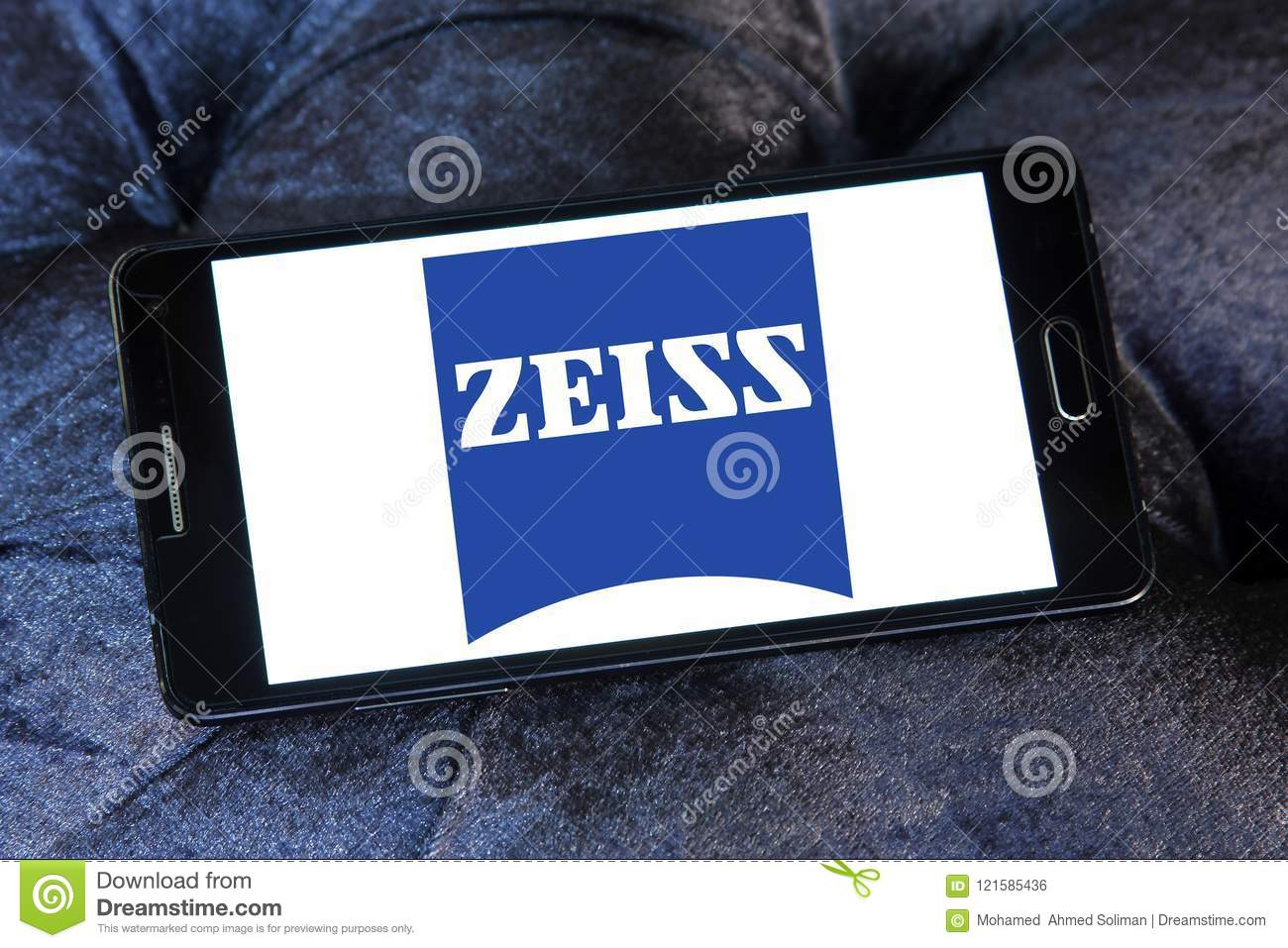 Carl Zeiss company logo editorial photo  Image of samsung