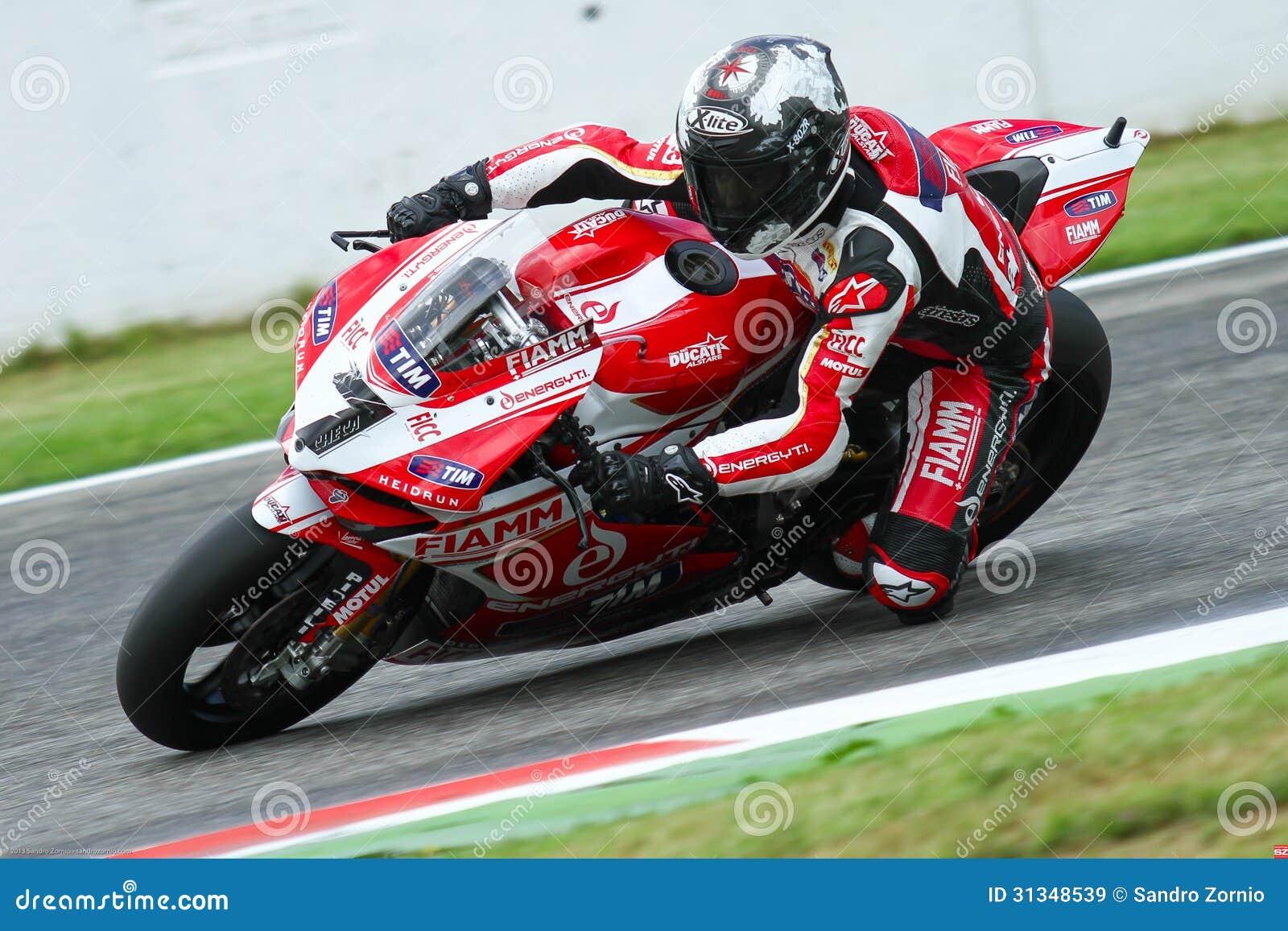 Carlos Checa #7 on Ducati 1199 Panigale R Team Ducati Alstare Superbike WSBK
