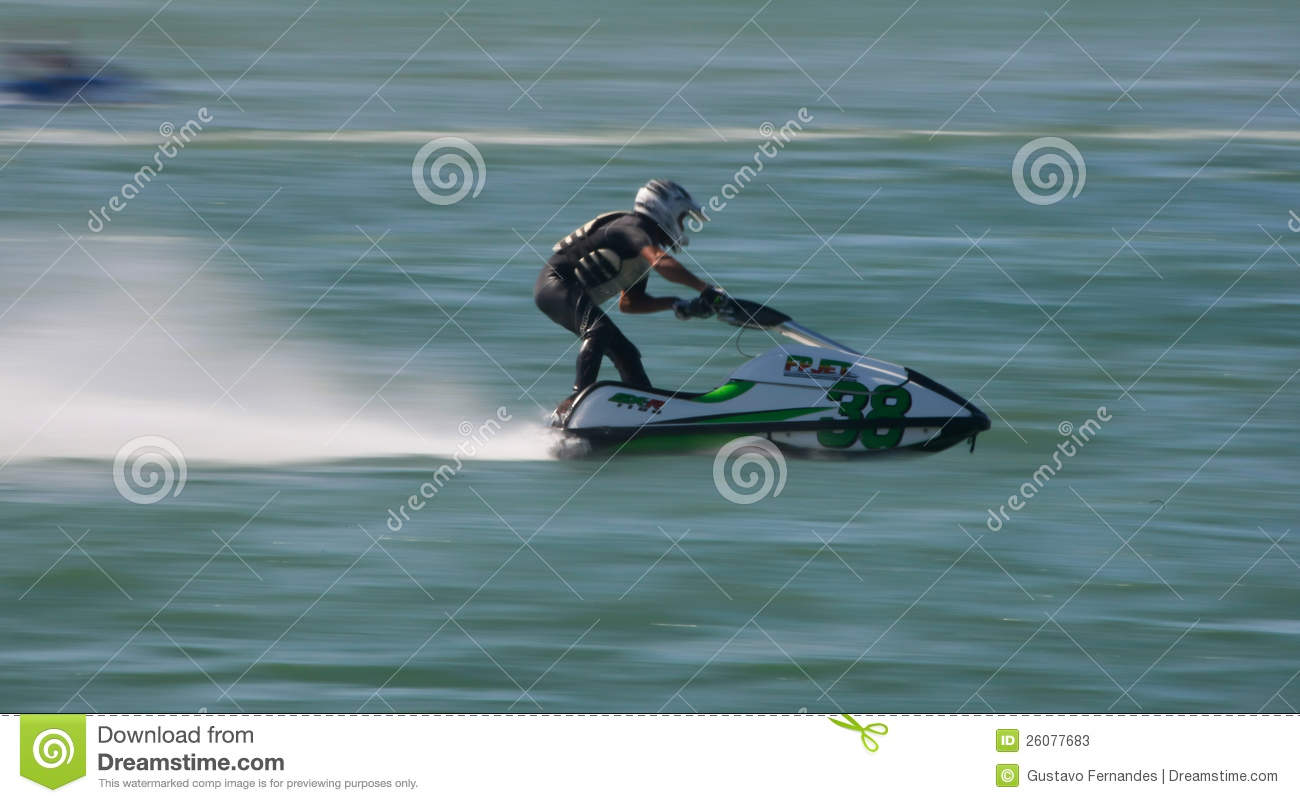carlos truta in gran prix of jet ski 2012 editorial stock photo image 26077683. Black Bedroom Furniture Sets. Home Design Ideas