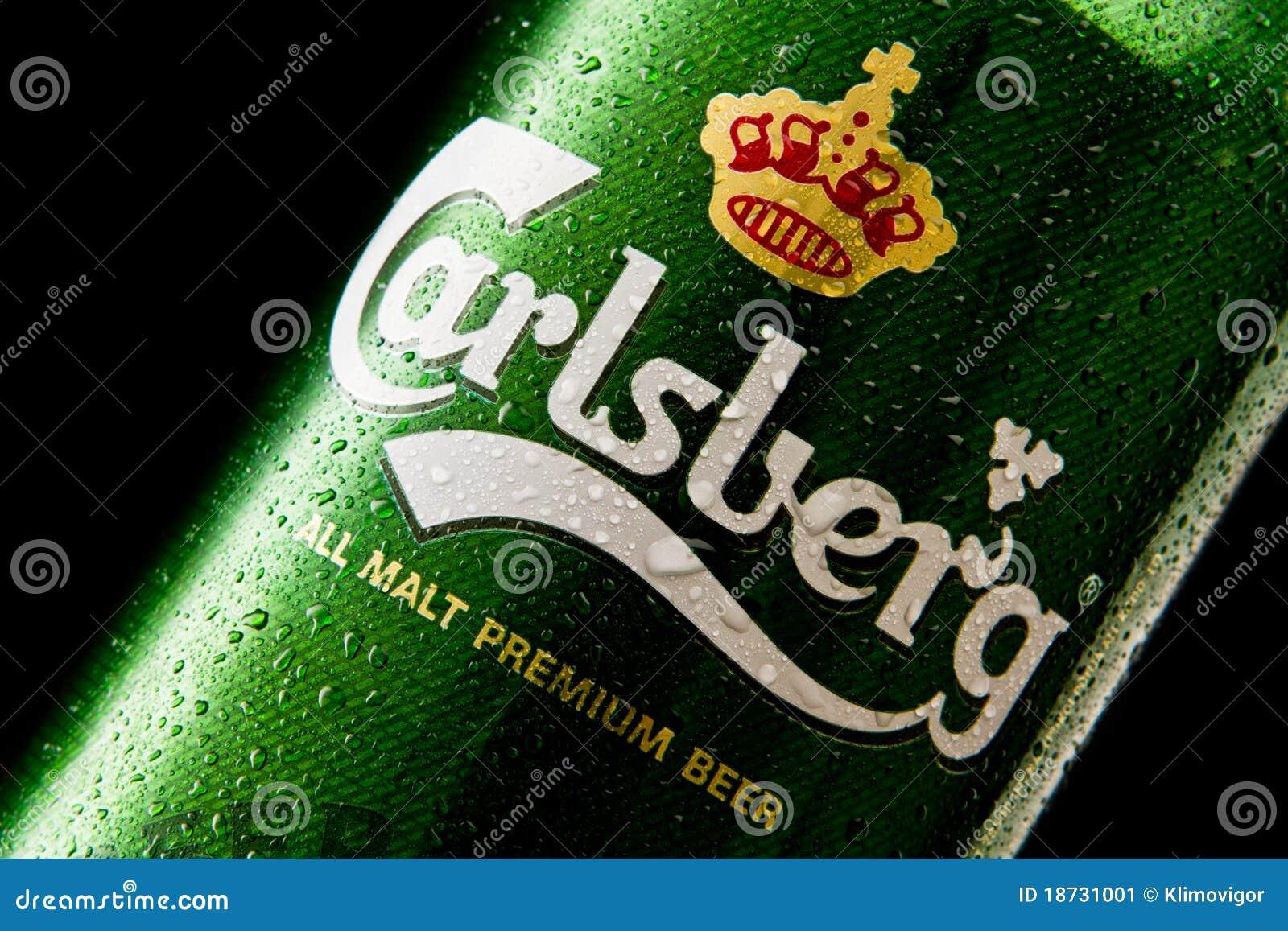 Carlsberg Beer Stock Images