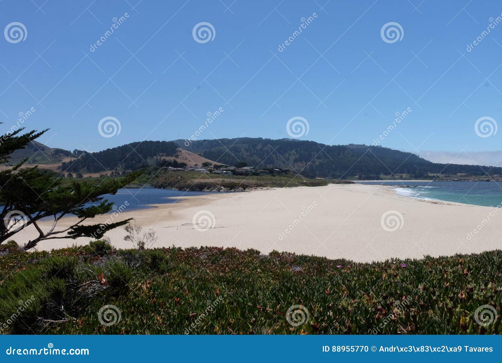Carmel Beach California Förenta staterna