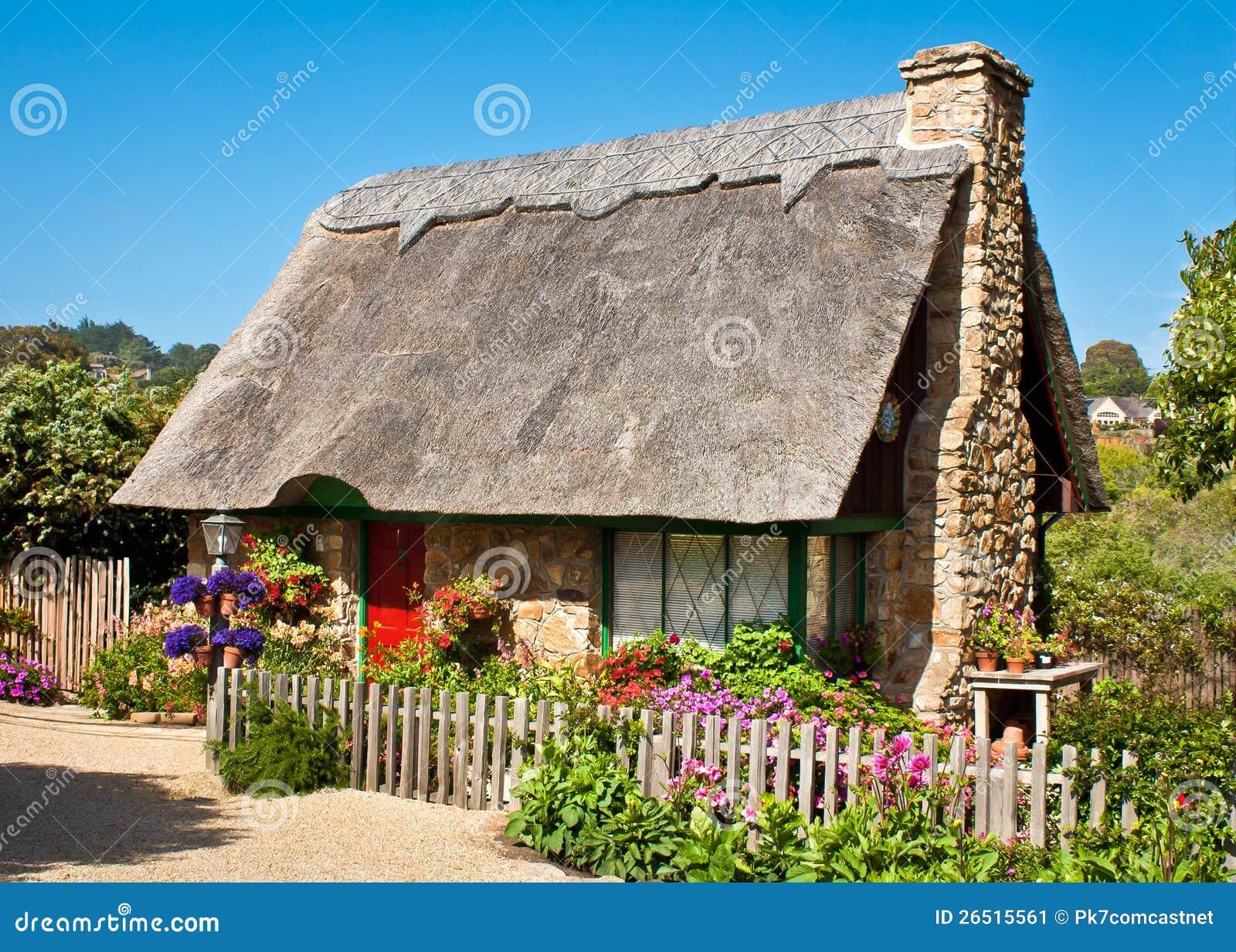 Carmel Cottage Stock Image Image 26515561