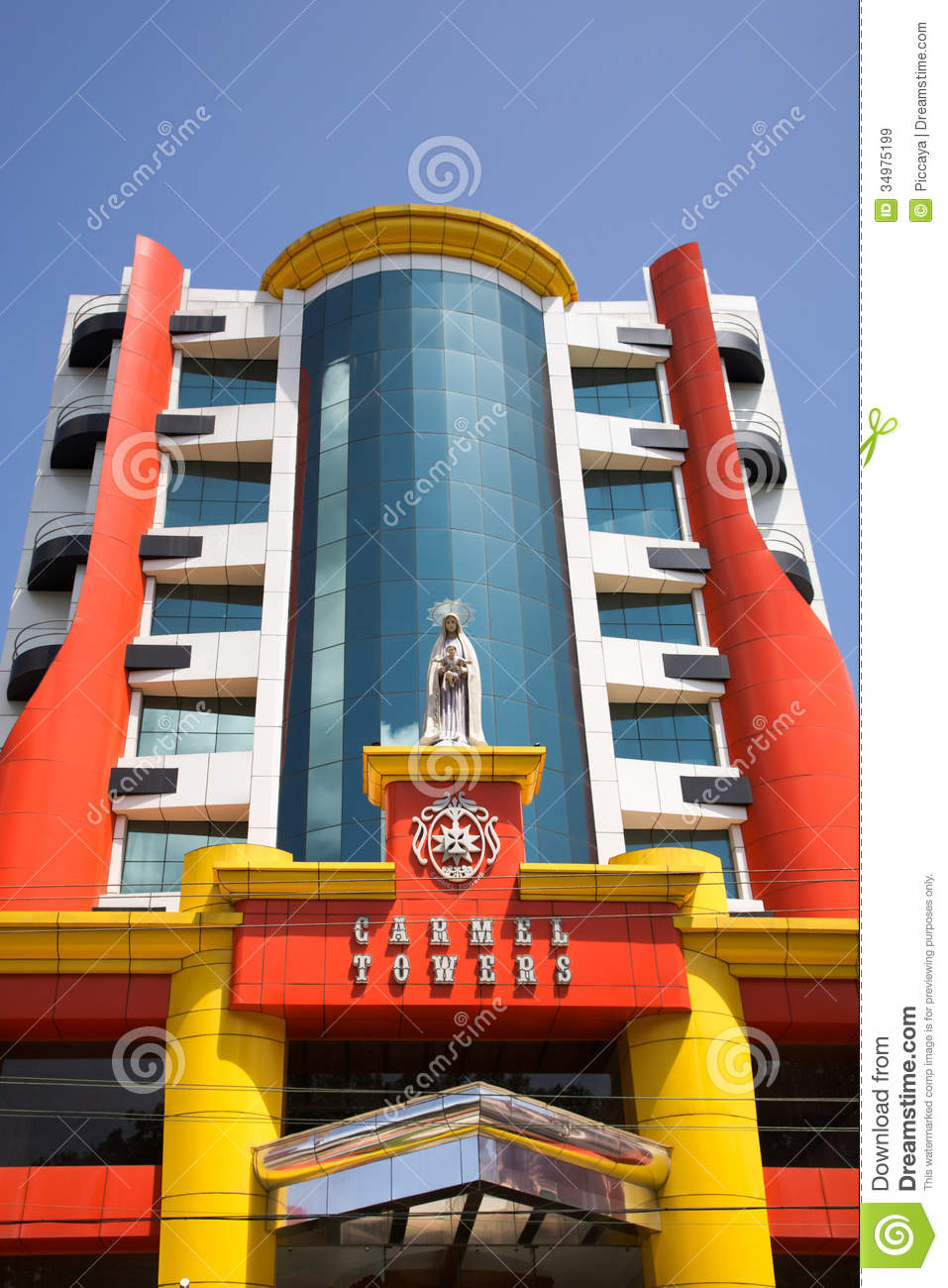 Modern Architecture Of India carmel towers, modern architecture in trivandrum, india. editorial