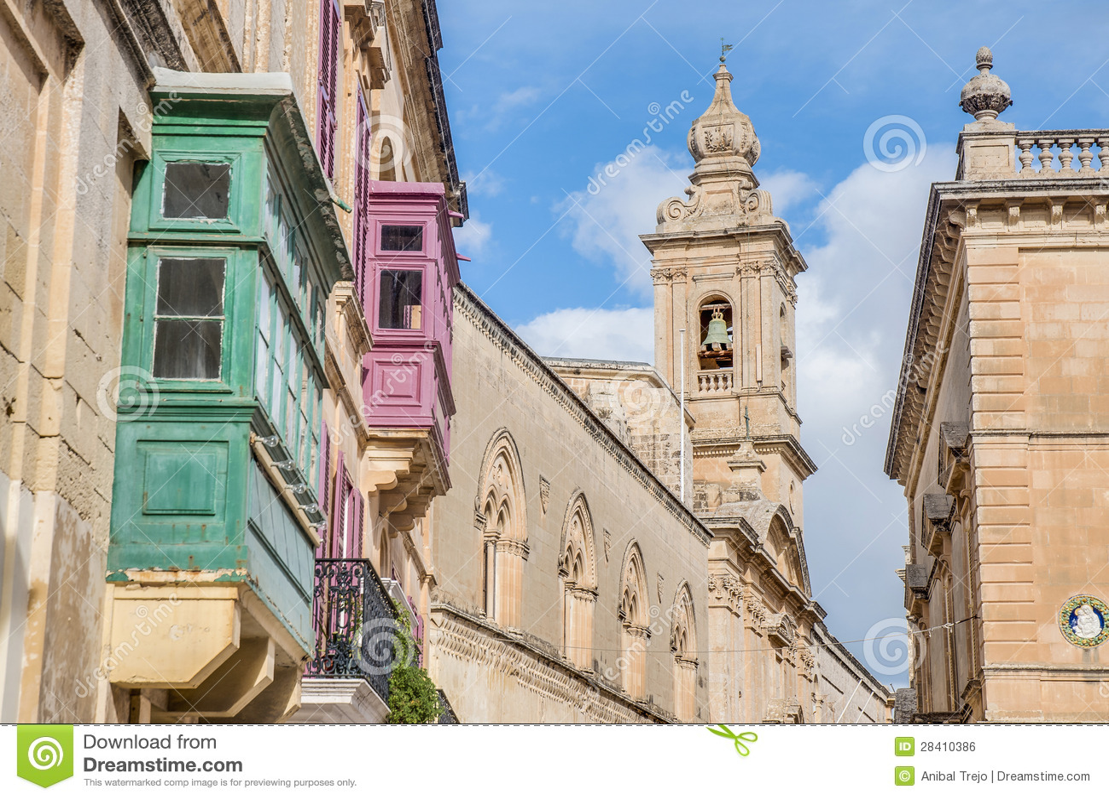 Carmelite kyrka i Mdina, Malta