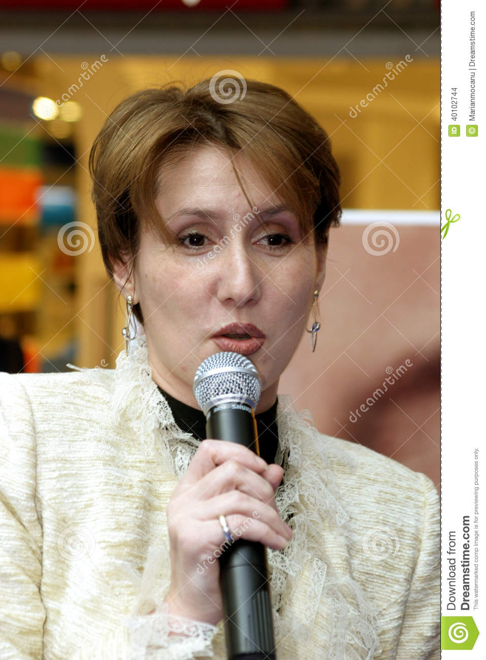 <b>Carmen Georgescu</b> Editorial Stock Image - carmen-georgescu-marketing-communication-manager-electrolux-romania-40102744