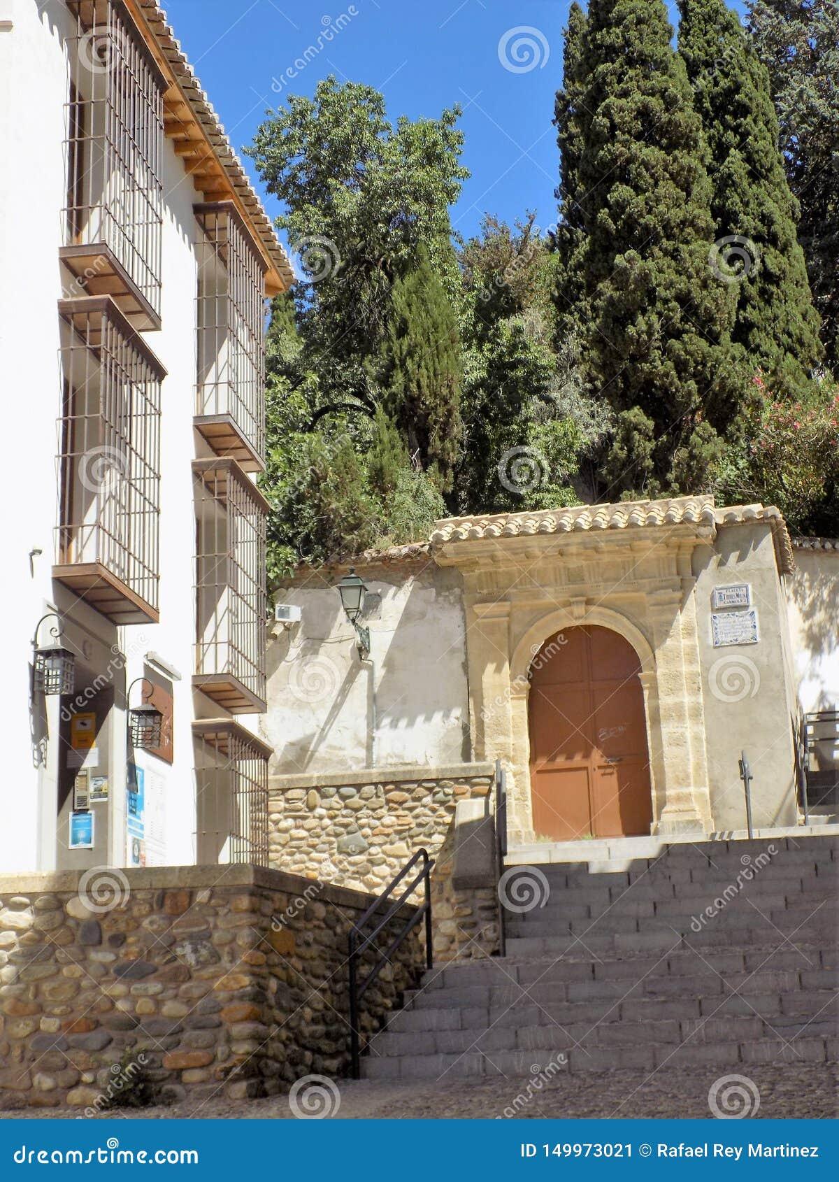 Carmenes des Albayzin-Granadas - des Andalusiens