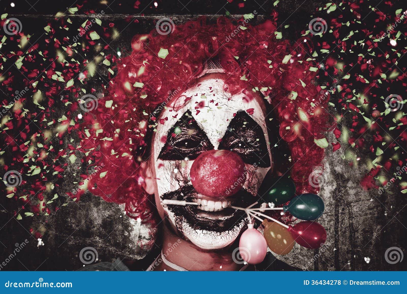 Carnaval clown met de decoratie van de balloncake royalty vrije stock foto 39 s afbeelding 36434278 - Decoratie van de villas ...