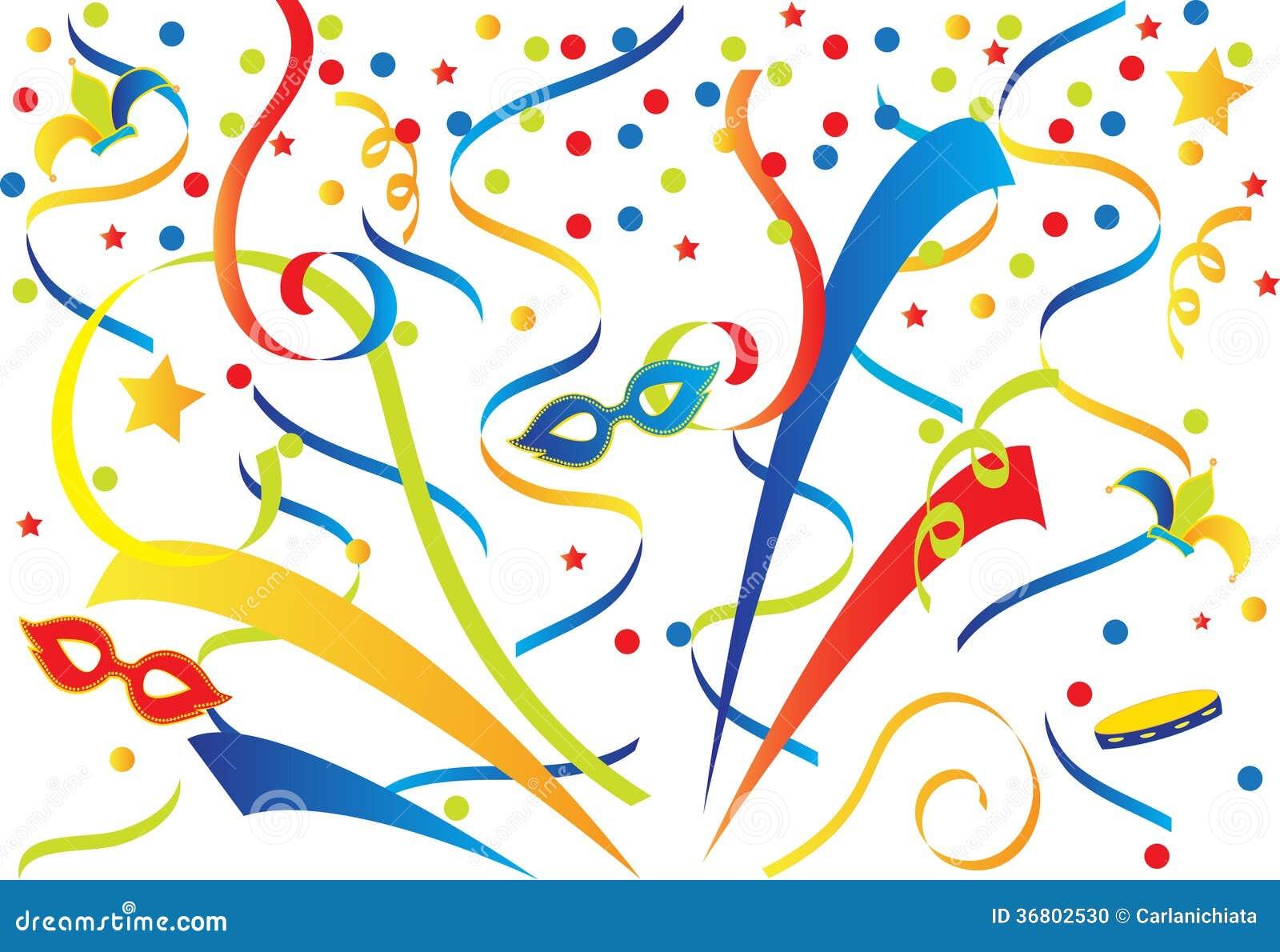 Carnaval Colorido Ilustração Do Vetor Ilustração De Projeto