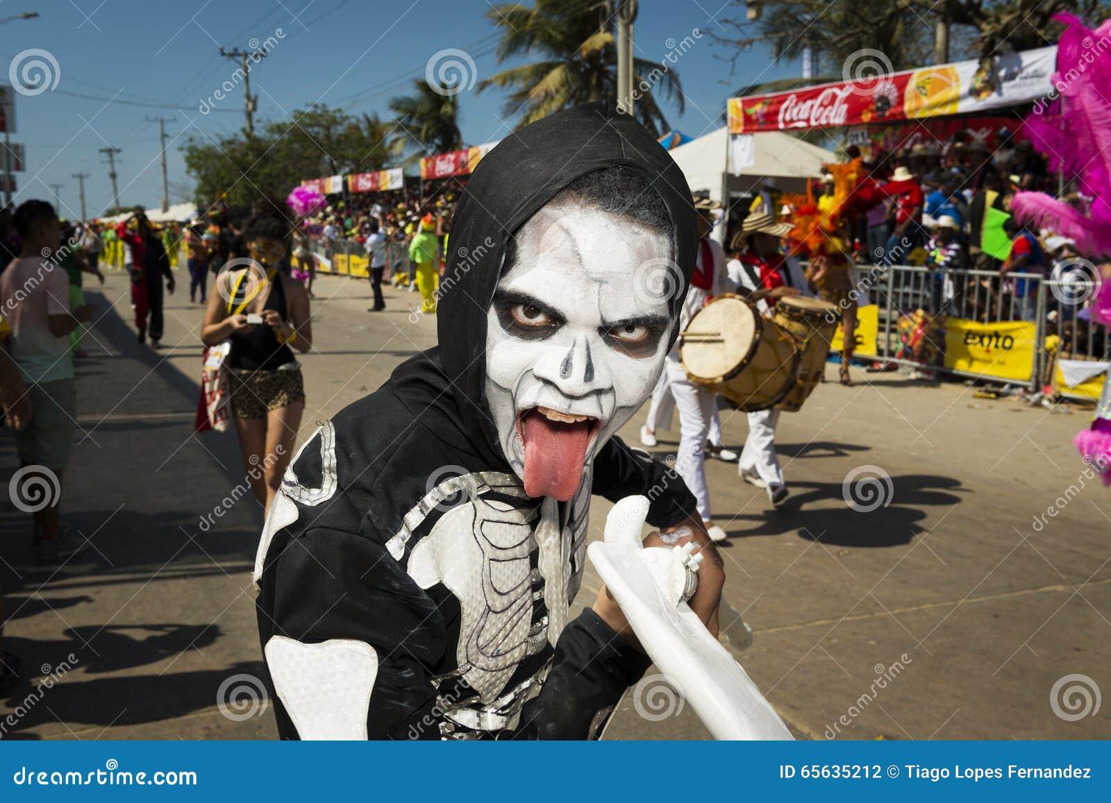 Carnaval de Barranquilla, en Colombie