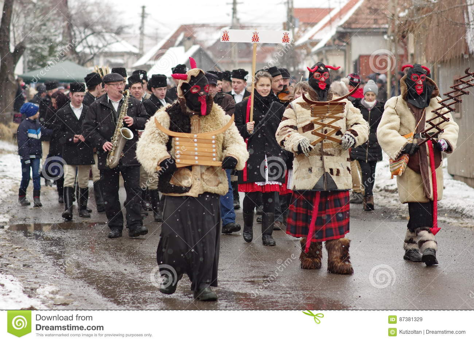 Carnaval de la conclusión del invierno