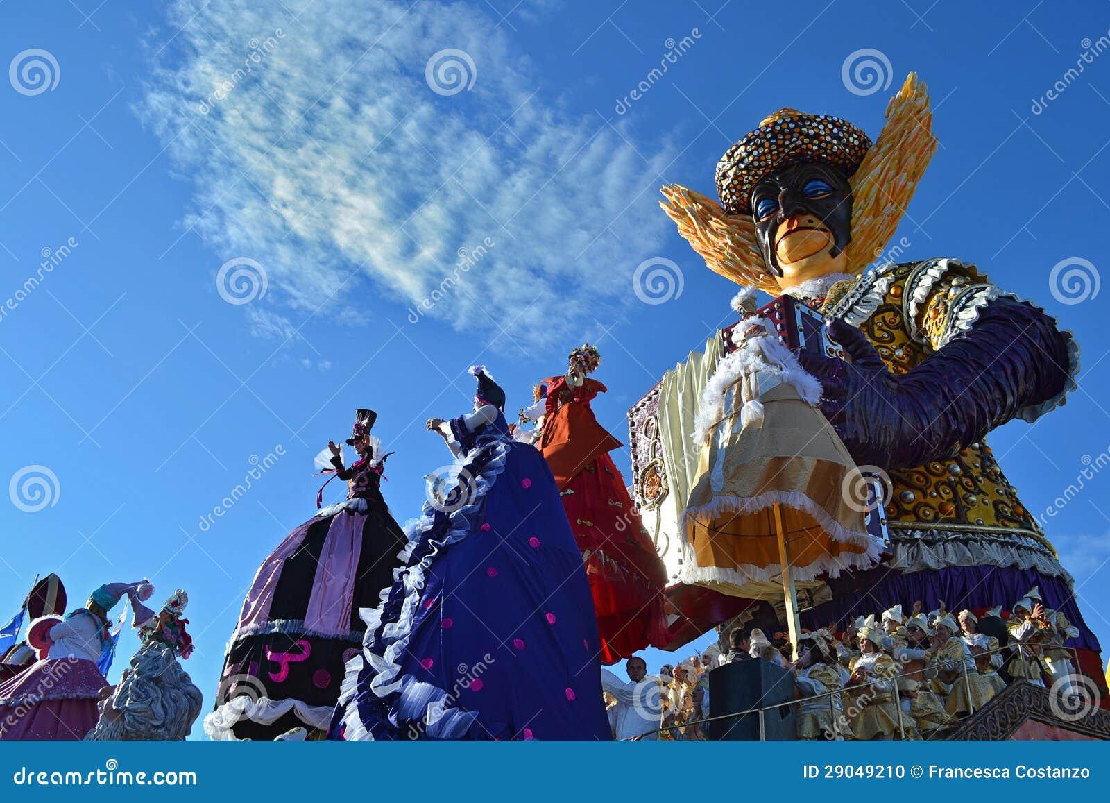 Carnaval de Viareggio, Italia