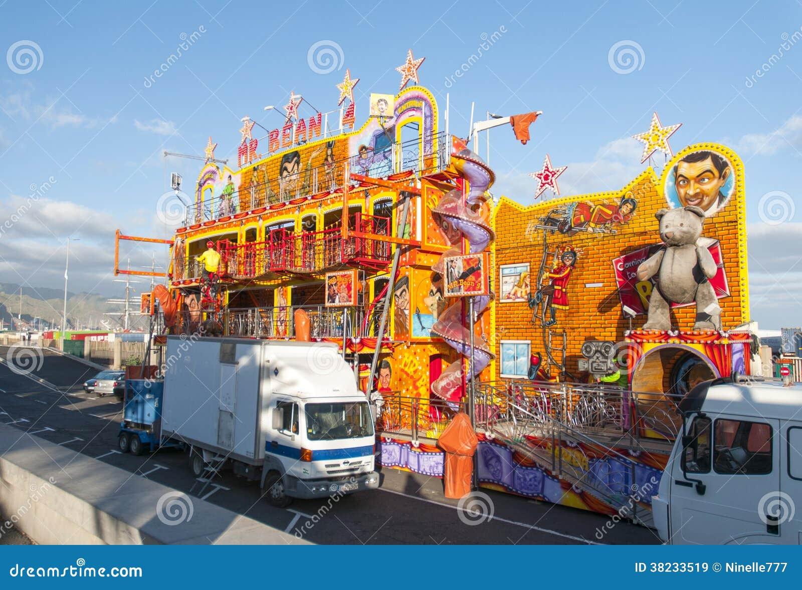 Carnaval 2014 en santa cruz de tenerife imagen de archivo - Parques infantiles en santa cruz de tenerife ...