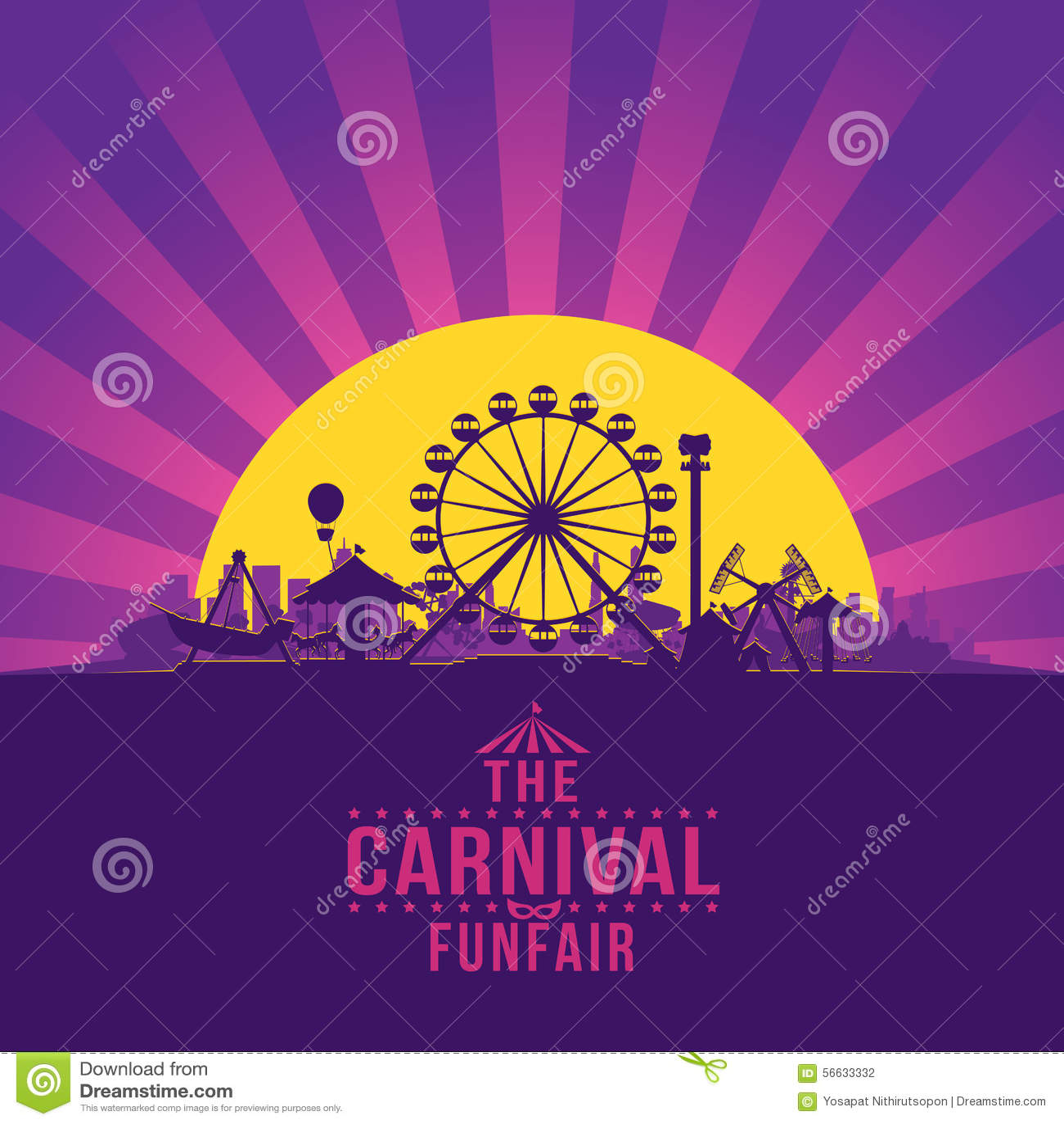 Carnaval funfair