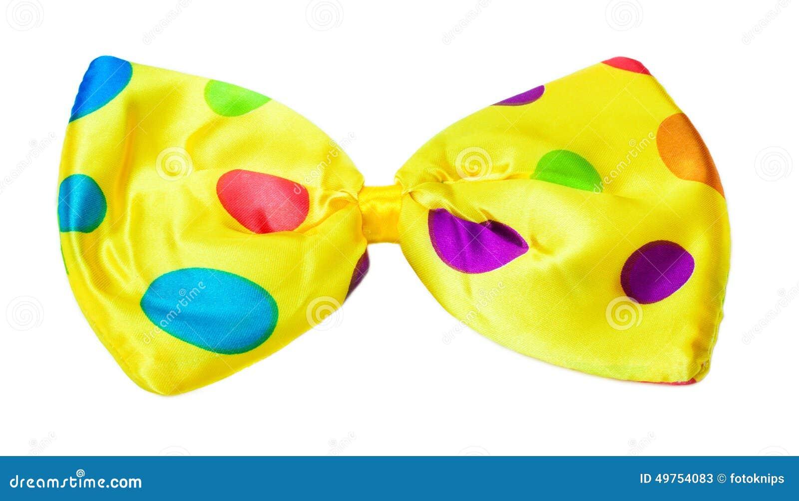 Carnaval, kleurrijke vlinderdas