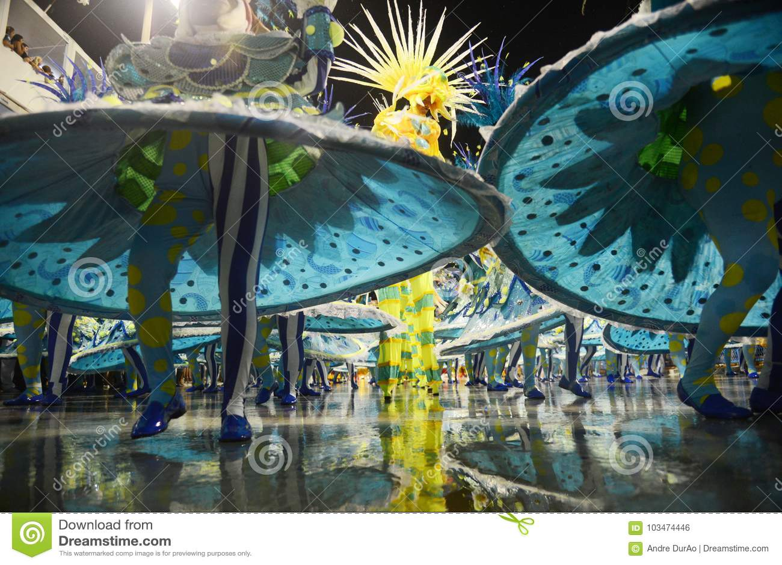 Carnaval Samba Dancer Brazil