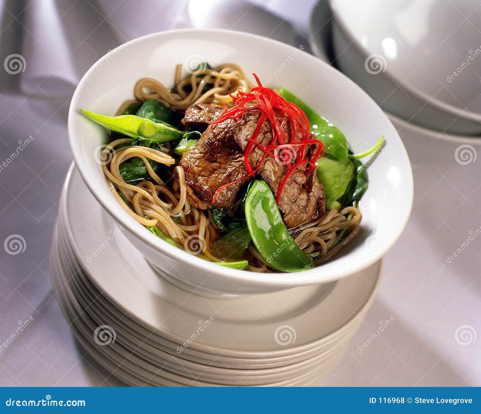 Carne asiática