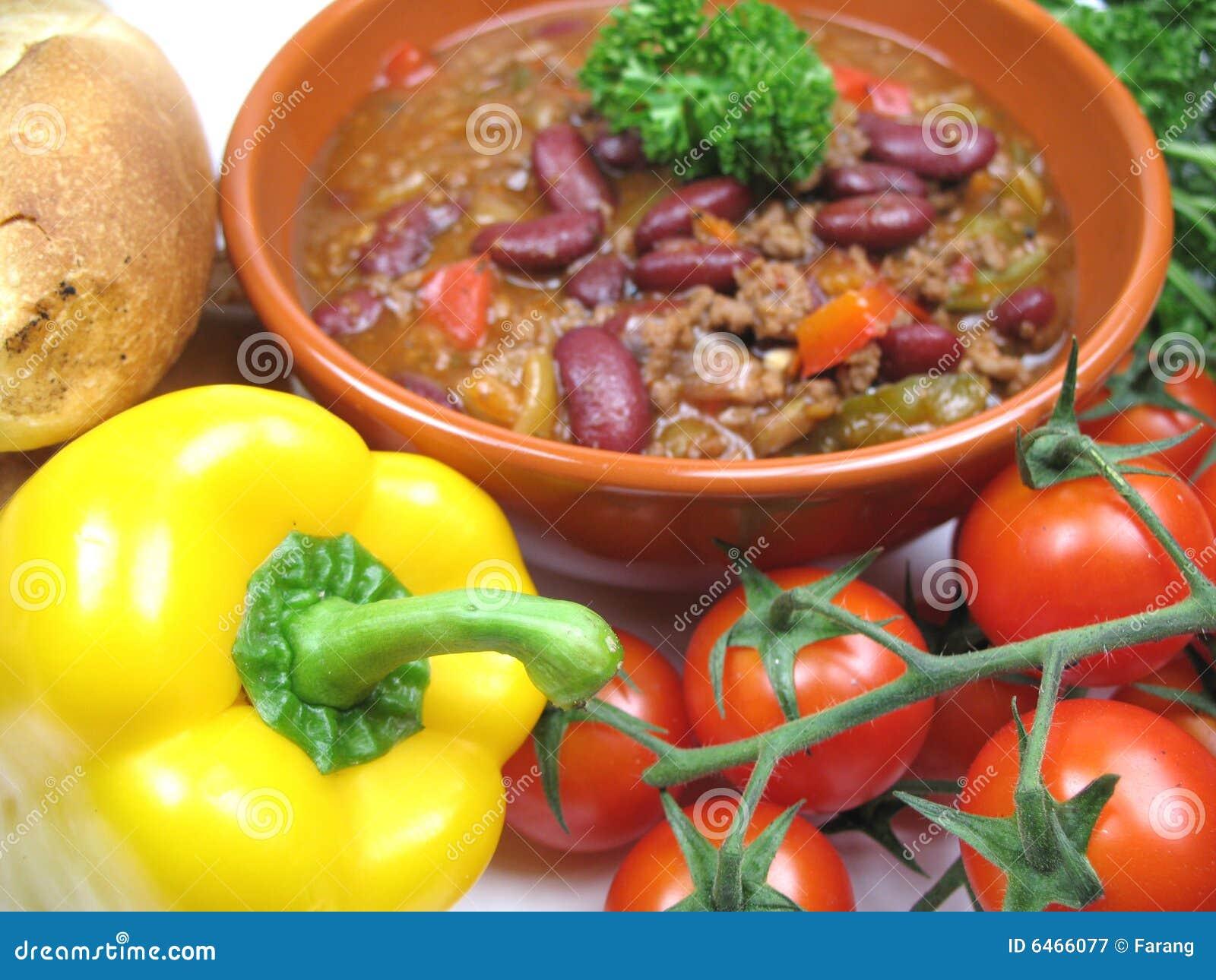 Carne chillie przeciwko
