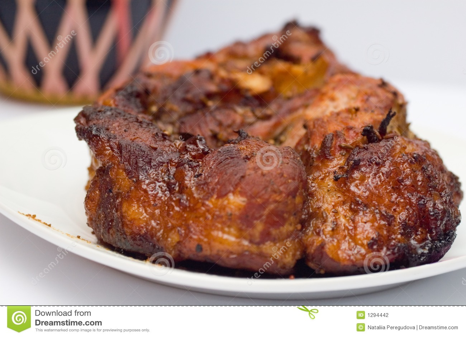 La carne el pájaro la grasa de la caloría