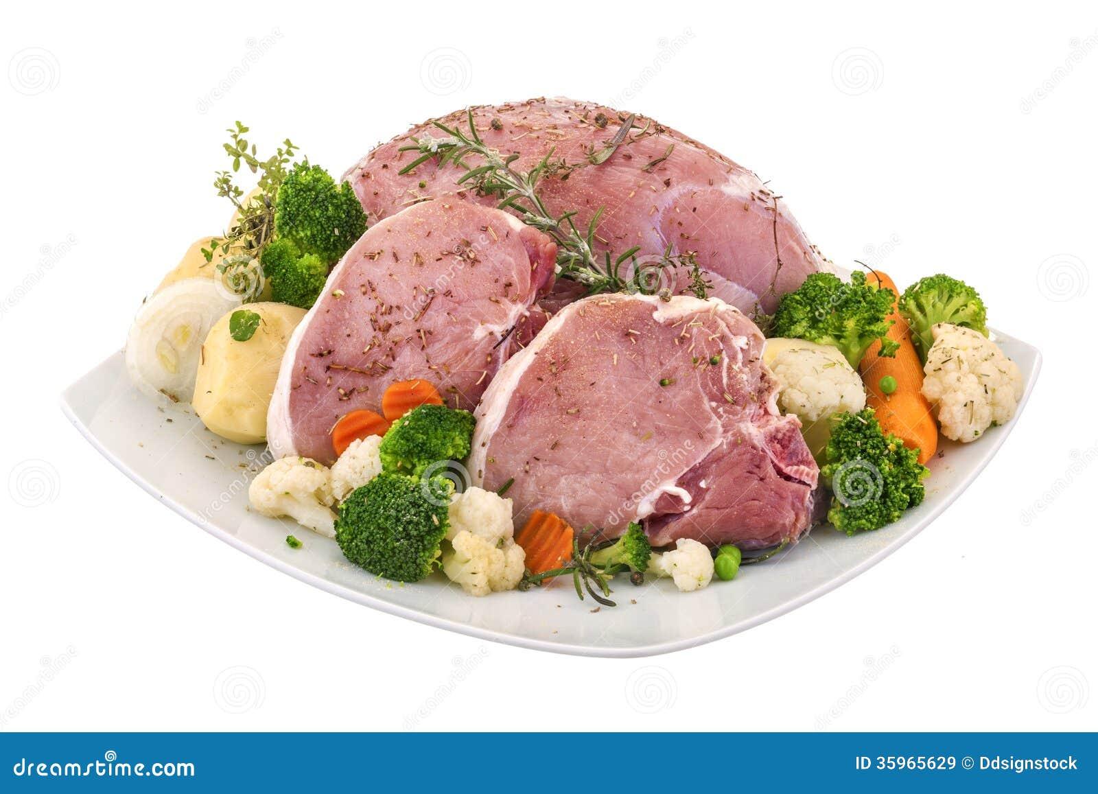 Carne de cerdo fresca