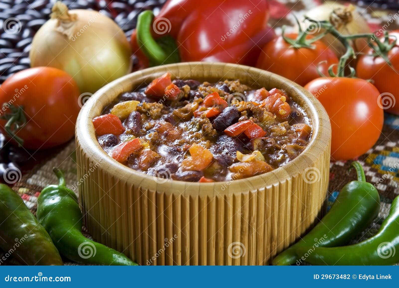 Carne de engodo de pimentões