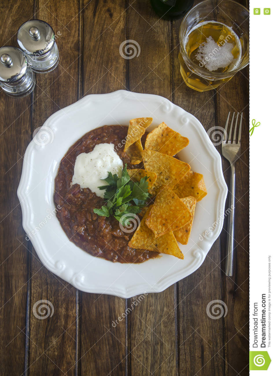 Carne de estafa de chiles