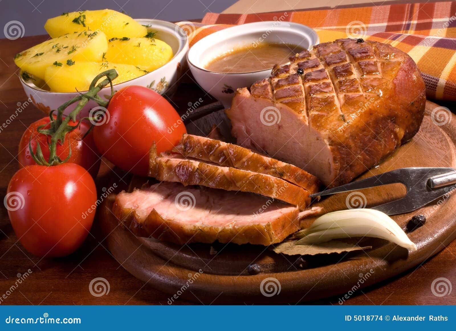 Carne de porco do assado