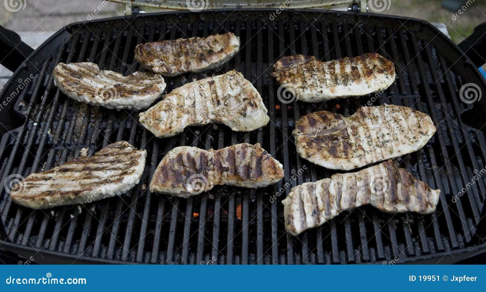 Carne de porco do BBQ