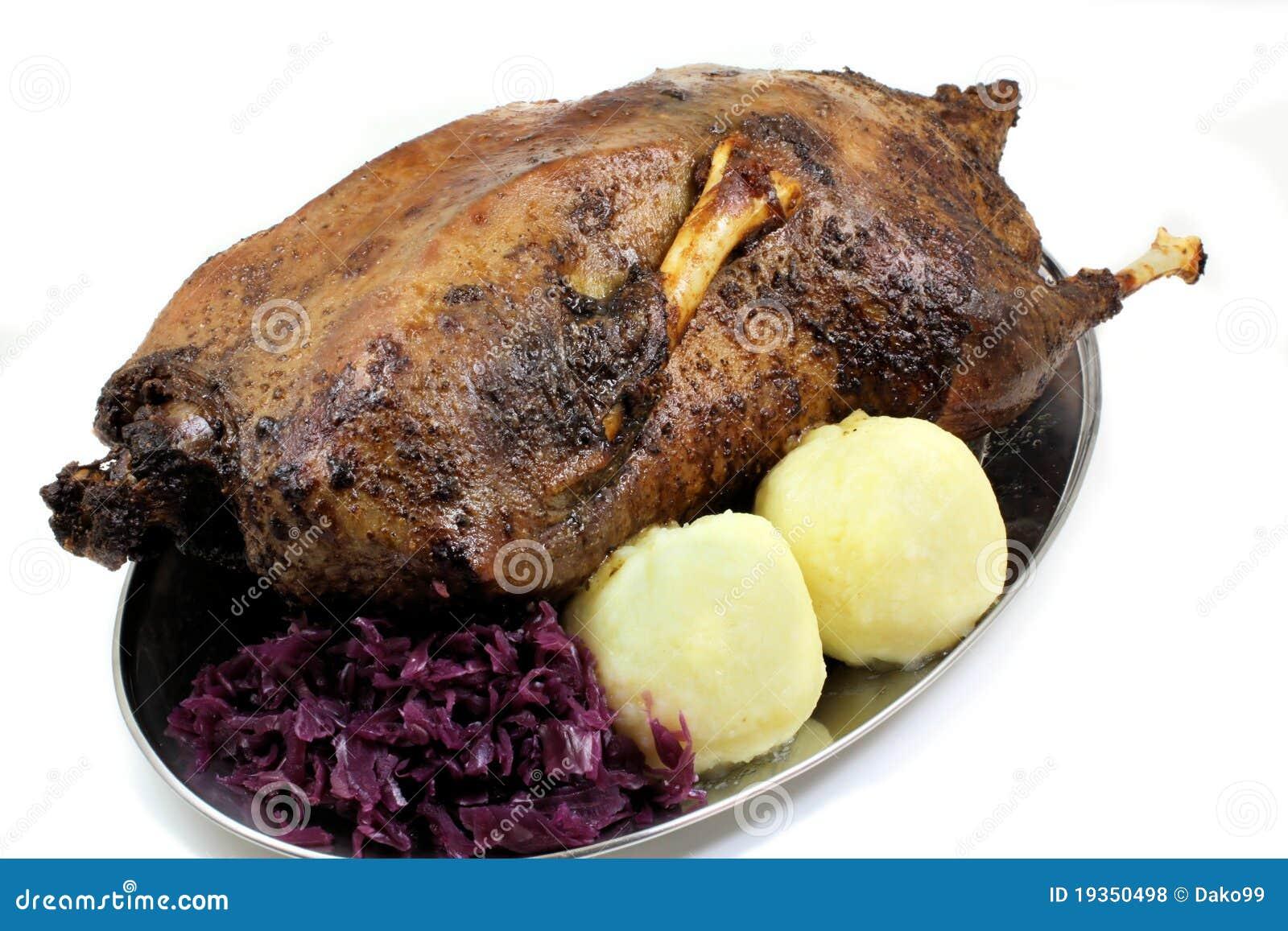 Carne de porco do pato