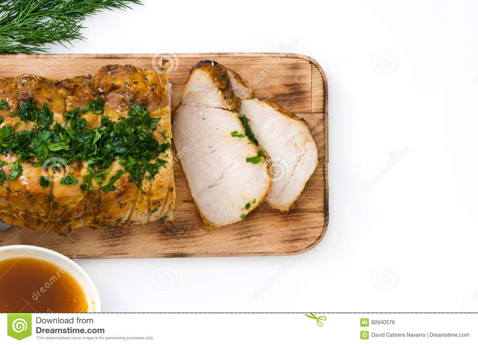 Carne de porco Roasted